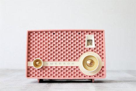 Vintage Pink Emerson Radio | Antiques & Vintage Collectibles | Scoop.it
