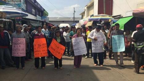 Simpatizantes de la CNTE rapan a profesores que pretendían dar clases en Chiapas   Ciudadanía   Scoop.it