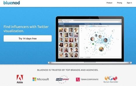 Bluenod. Identifier et suivre les influenceurs sur Twitter – Les outils de la veille | Les outils du Web 2.0 | Scoop.it
