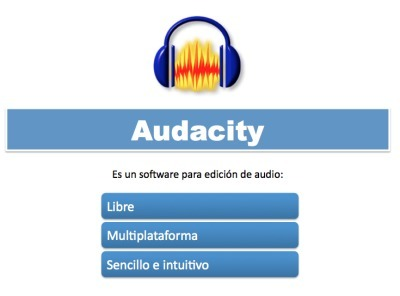 Tutorial Audacity en Power Point para descargar | Edición de audio | Scoop.it