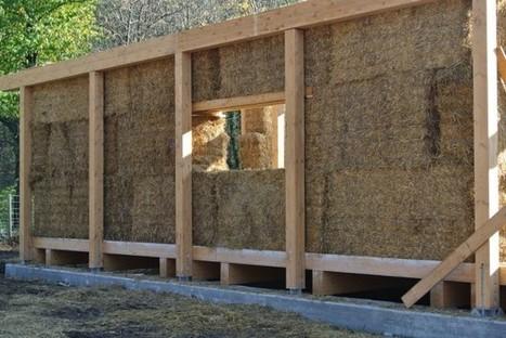 Le pareti sono balle di fieno il caseificio è ecocompatibile - Milano - Repubblica.it | Costruire con le balle di paglia www.caseinpaglia.it | Scoop.it