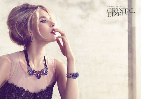 Annemara Post Stuns in Swarovski Crystallized Spring 2013 Campaign by Mario Schmolka | TAFT: Trends And Fashion Timeline | Scoop.it