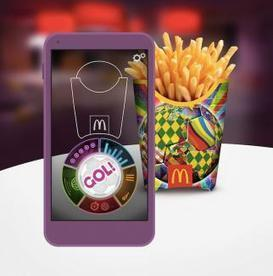 McDonald's Turns Fries Packaging into Virtual Reality Soccer Field | restaurants | Scoop.it