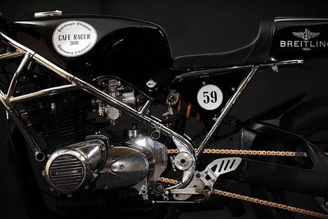 "Kawasaki Z1000 ""Breitling"" //by Santiago Chopper | Vintage Motorbikes | Scoop.it"