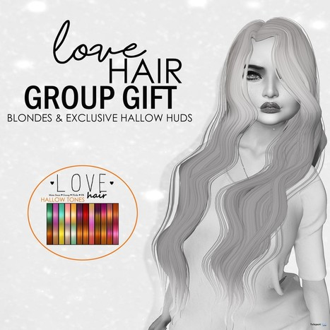 Rogue Hair Exclusive Hallow Tones HUD Group Gift by Love Hair | Teleport Hub - Second Life Freebies | Second Life Freebies | Scoop.it