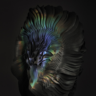 Colour-changing ink transforms flame-engulfed headdress | web news | Scoop.it