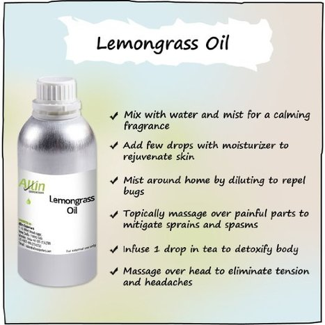 Shop Online For Therapeutic Grade Lemongrass Oil from Allin Exporters | Allin Exporters | Scoop.it