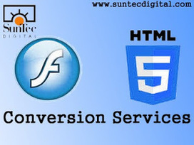 Digital Content Conversion & Publishing: Why Outsource Flash to HTML5 Conversion Services? | Digital Publishing | Scoop.it
