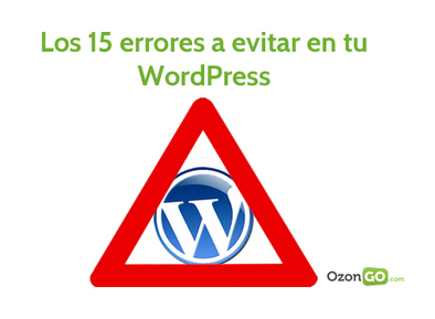 Los 15 errores en WordPress más comunes de la actualidad | Links sobre Marketing, SEO y Social Media | Scoop.it
