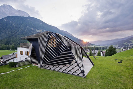 Parametric Architecture Rattles The Italian Alps | Architecture and Architectural Jobs | Scoop.it