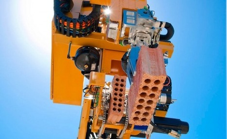 This brick-laying robot can built an entire house in 2 days flat   Inspiring - Amusing   Scoop.it