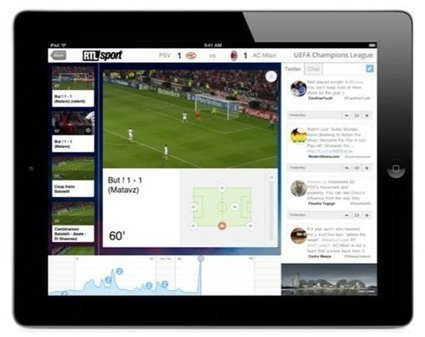Une « solution second screen révolutionnaire » pour les amateurs de foot sur Club RTL | Social TV is everywhere | Scoop.it