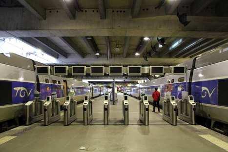 La SNCF teste des portillons antifraude pour l'accès au TGV | Les actus de Cyril | Scoop.it