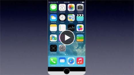 iPhone 6 : concept bicolore avec écran 5 pouces Full HD - Gentside | iphone 6 | Scoop.it
