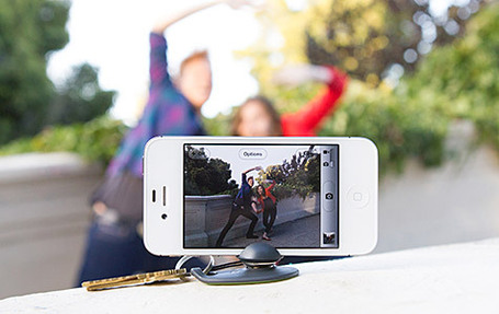 Tiltpod Mobile adds an iPhone tripod to your keychain | cool stuff from research | Scoop.it