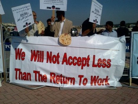 Bahrain:  Sacked workers protest for right to work!   Human Rights and the Will to be free   Scoop.it