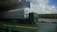 ESA Portal - Galileo's Soyuz launchers arrive at French Guiana | Planets, Stars, rockets and Space | Scoop.it