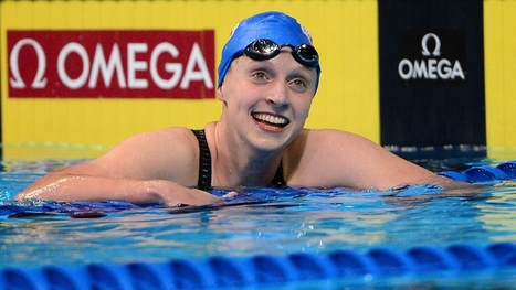 U.S. Olympic swim trials: Katie Ledecky officially qualifies for Rio | Competitive swimming | Scoop.it