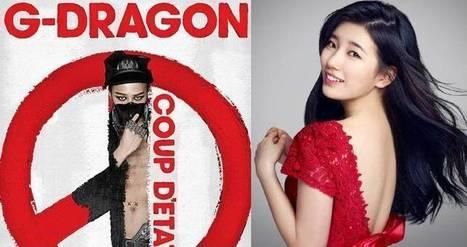 Suzy is a fan of G-Dragon's new album 'Coup D'etat'   TEEN TOP   Scoop.it