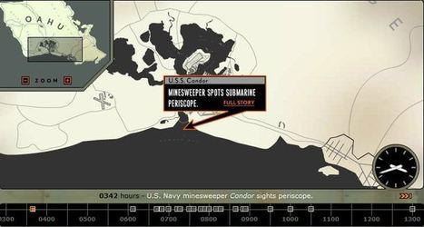 Pearl Harbor Attack Map - National Geographic Education | world war 2 | Scoop.it