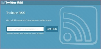 Find the RSS feed for any Twitter user with Twitter RSS | Business in a Social Media World | Scoop.it