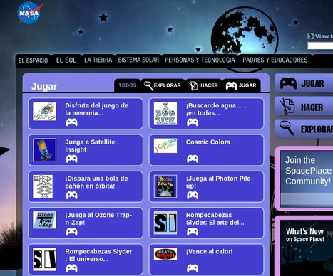 La NASA se pone a jugar | EDUDIARI 2.0 DE jluisbloc | Scoop.it