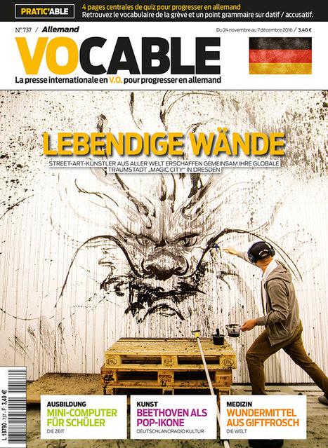 Vocable allemandn°737 du 24 novembre 2016 | les revues au CDI | Scoop.it