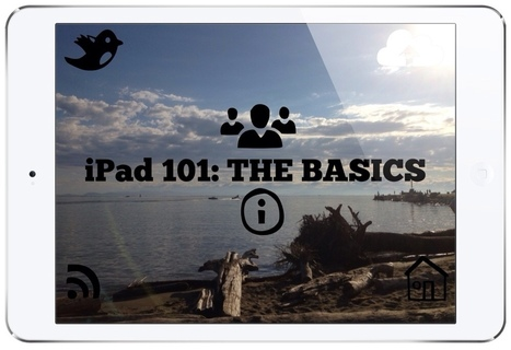 iPad 101: THE BASICS | English and TICs | Scoop.it