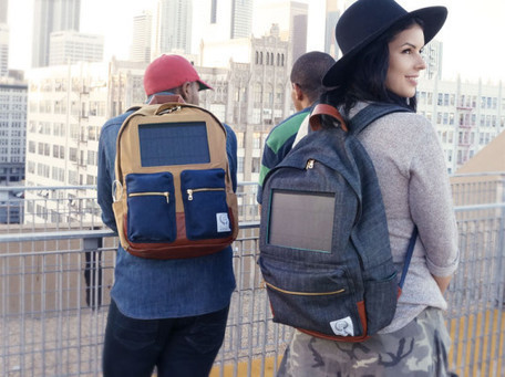 Project Solaire's Solar-Powered Backpacks charge Gadgets on the Go | Technology in Business Today | Scoop.it