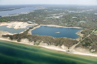 Nugent Sand South Lake: 100 years of sand mining to be replaced by ambitious development | Lake Effect... Preservation & Development | Scoop.it