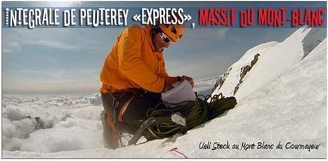 L'Intégrale de Peuterey «express» de Ueli Steck | Le Goupil Volant | Scoop.it