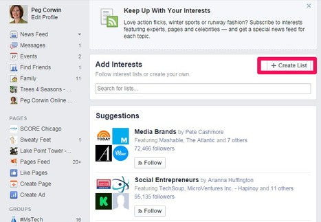 Interest Lists on Facebook | SEO, Social Media & PPC | Scoop.it