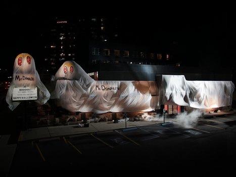 Coup de génie ! Burger King se déguise en McDonald's pour Halloween | Marketing et Promotions | Scoop.it