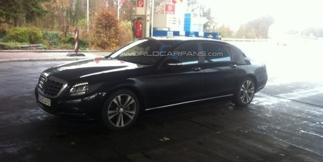 Next-generation Mercedes-Benz S Class XL spied  | AllOnAuto.com | New Cars and Bikes in India | allonauto.com | Scoop.it
