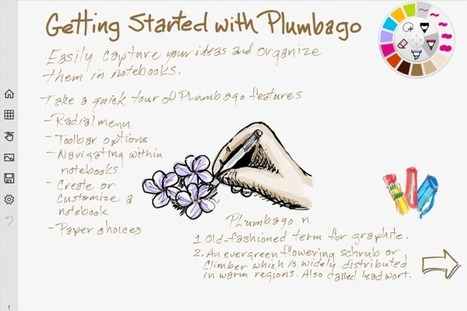 Microsoft Launches Plumbago, A Paper App Competitor That Lets You Sketch & Handwrite Notes | Sketchnoting | Apps | 21st Century Tools for Teaching-People and Learners | Scoop.it