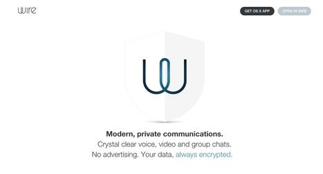 Wire. Messagerie instantanée et appels vidéo sécurisés pour le travail collaboratif - Les Outils Collaboratifs | Outils 2.0 | Scoop.it