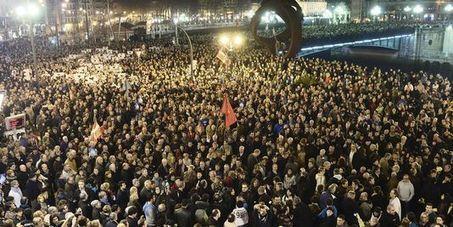 ESPAGNE: Des dizaines de milliers de manifestants défient Madrid dans les rues de Bilbao | Comprendre la menace | Scoop.it