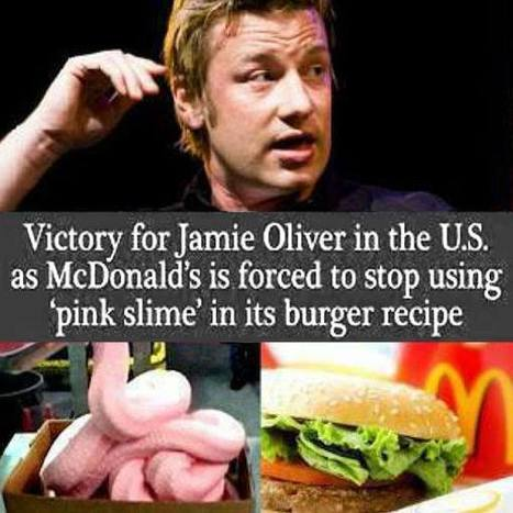 """Hamburger Chef Jamie Oliver Proves McDonald's Burgers """"Unfit for Human Consumption"""" 