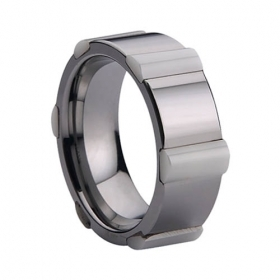 Ceramic Inlaid Tungsten Ring | I Love Tungstenjewelry | Scoop.it