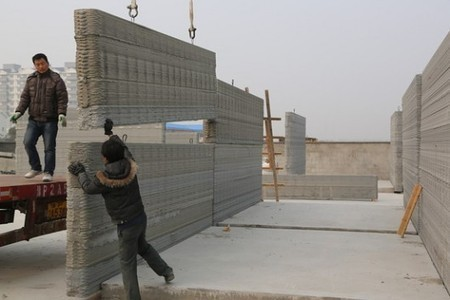 Chinese company uses 3D printing to build 10 houses in a day | Living Little | Scoop.it