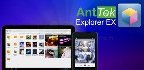 AntTek Explorer Ex Pro 4.2.3 APK Free Download - APK Gadget™ | Apk Download | Scoop.it