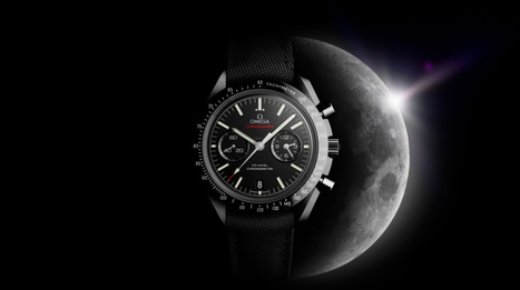 Omega unveils Speedmaster Dark Side of the Moon Timepiece | Raised By Lions | Mens Entertainment Guide | Scoop.it