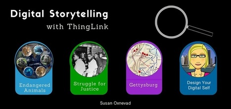 4 Ways to Tell Digital Stories with ThingLink EDU | Technology and language learning | Scoop.it