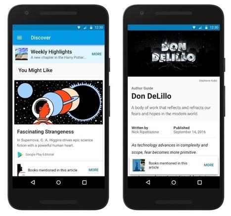 Google veut remplacer les libraires pour aider à trouver ses prochaines lectures | Bibliothèque et Techno | Scoop.it