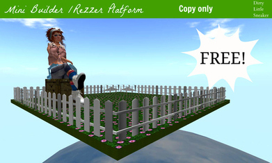 Free Builder/Rezzer platform from *DLS* | Freebies and cheapies in second life. | Scoop.it