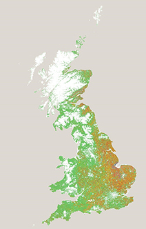 First ever UK digital crop map from satellite data | Everything is related to everything else | Scoop.it