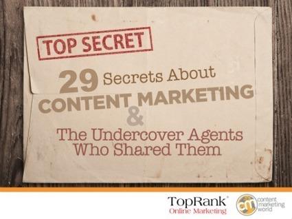 29 Content Marketing Secrets - Free eBook | Communiquer sur le Web | Scoop.it