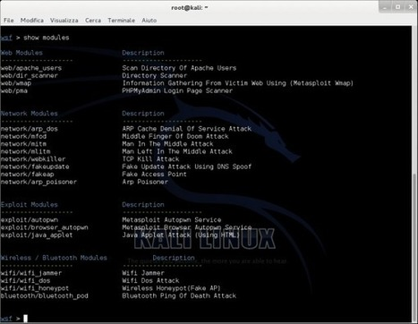 Websploit Framework: open source vulnerability scanner | Sicurezza, System | HTML.it | nodeJS and REST APIs | Scoop.it