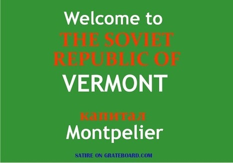The Soviet Republic of Vermont; State will offer healthcare for all by 2017. | GrateBoard | Medicine and Health News | Scoop.it