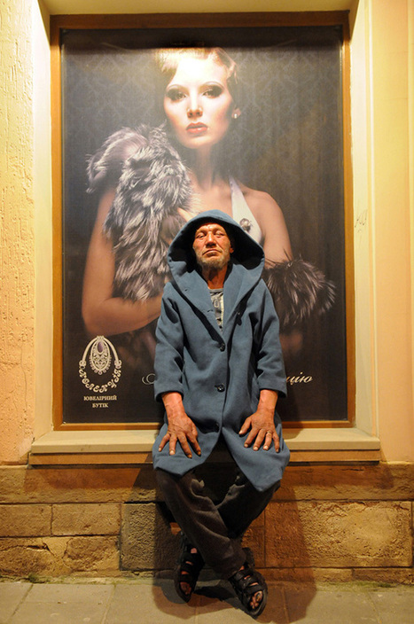 Captivating Portraits of a Fashionable Homeless Man | Urban Decay Photography | Scoop.it